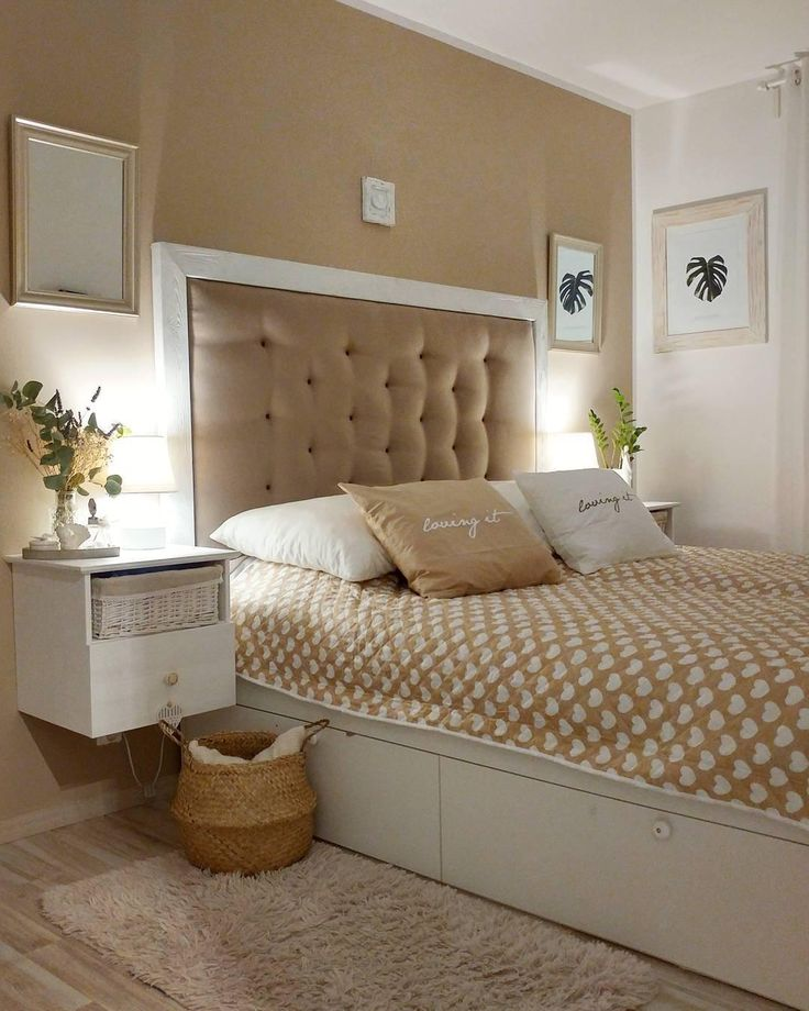 907 best Schlafzimmer \/ Bedroom images on Pinterest Bedroom - schlafzimmer braun beige