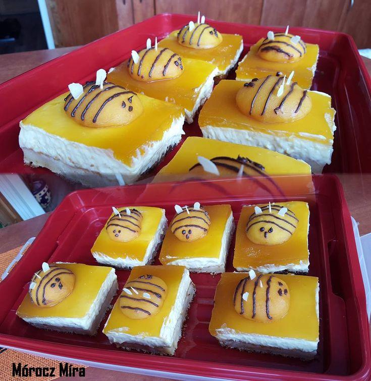 Méhecske sütemény, egy finom süti, ami mindenkit jókedvre derít!