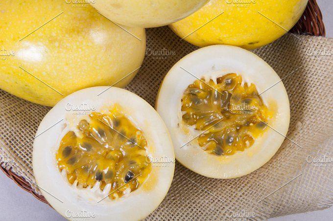 Passion fruit pulp by REBECAZUM on @creativemarket
