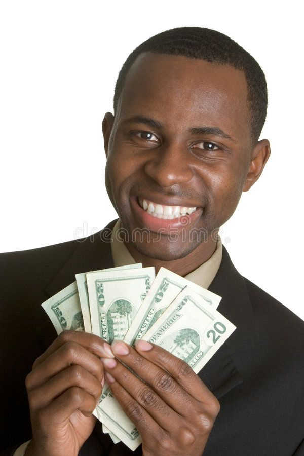 Black Money Man Smiling Black Man Holding Money Aff Man Smiling Black Money Holding Ad Stock Images Free Man Architecture Photo