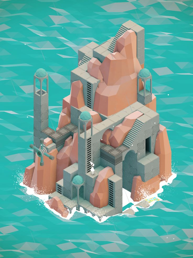 A castle on the sea