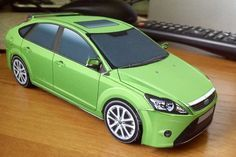 2009 Ford Focus Paper Car Free Vehicle Paper Model Download…