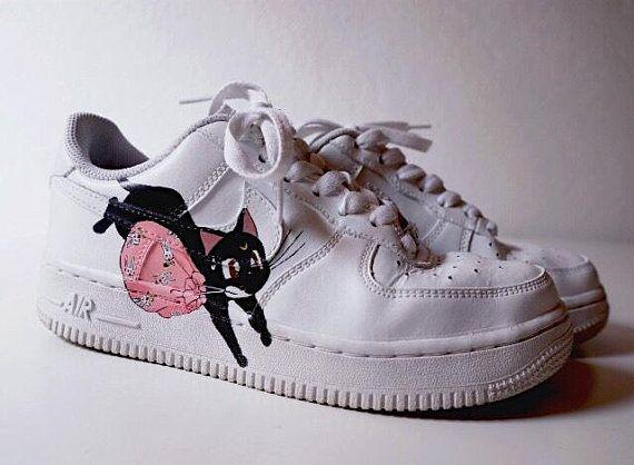 Nike Air Force 1 custom Sailor Moon en 2019 | Zapatos y