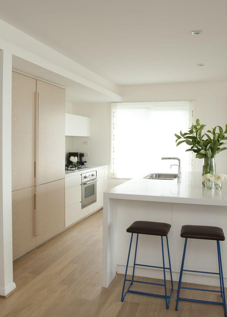 Kitchen for seaside living. Brooke Aitken Design.