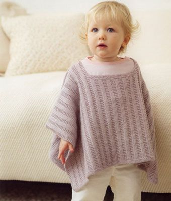 Baby Poncho Knitting Pattern Ipaafo For