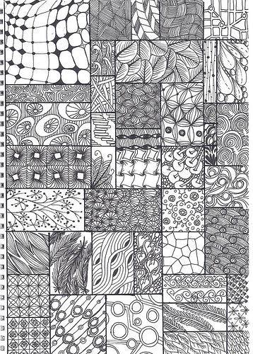 #zentangle #doodle #tuto: