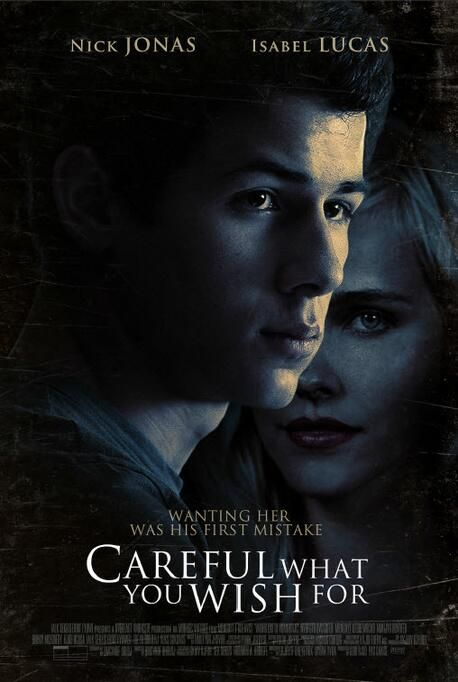 "Official promotional poster for ""Careful What You Wish For!"""