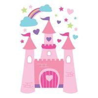 Forwalls muursticker prinsessenkasteel