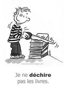 règles à la bibliothèque