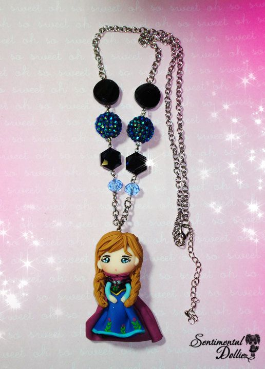 disney frozen jewelry frozen ana necklace disney frozen. Black Bedroom Furniture Sets. Home Design Ideas