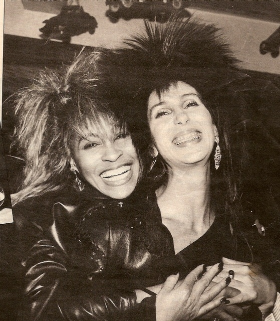 Cher and Tina Turner