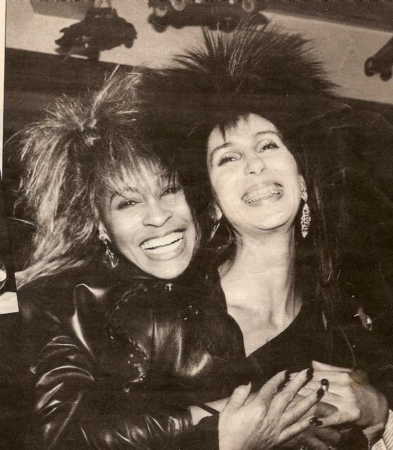 Cher and Tina Turner