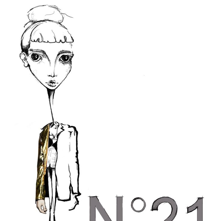 Inspired by #n21 #fashion #illustration by #tio.torosyan