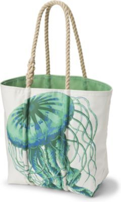 Sperry Top-Sider Sailcloth Jellyfish Medium Tote Don't even know why this caught my eye, but it did right away!