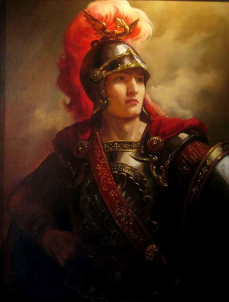 Александр Великий. – картина художника Андрея Шишкина