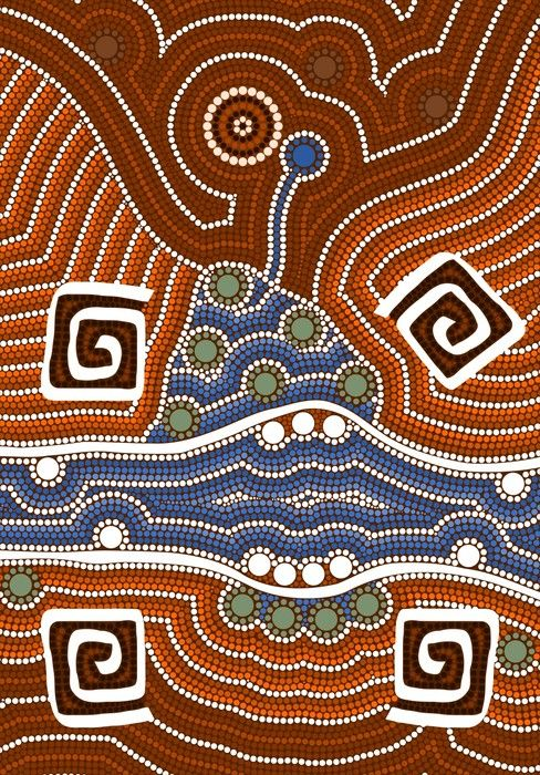 Colourful Aboriginal Art from $34.99 | www.wallartprints.com.au #AboriginalArt