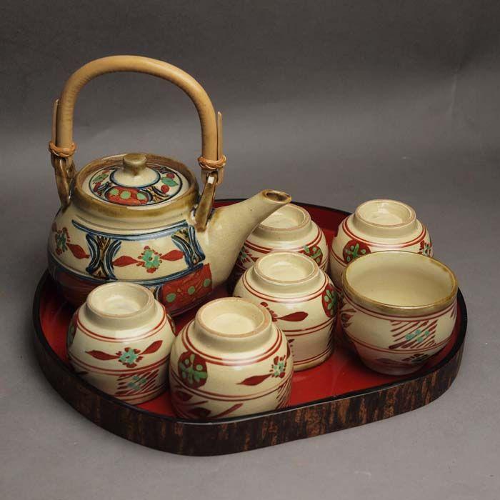 Японская керамика. Набор для чайной церемонии