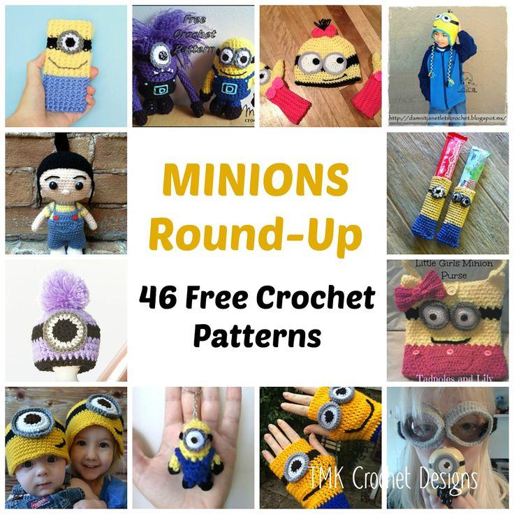 28 best Minions images on Pinterest | Crochet minions, Crochet ...
