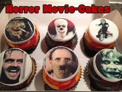 halloween horror movie inspired cupcakes possibly too scary to bite into foodie - Halloween Horror Decorations
