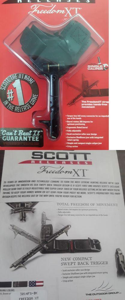 Release Aids 181303: Scott Archery Release Freedom Xt Black -> BUY IT NOW ONLY: $95 on eBay!