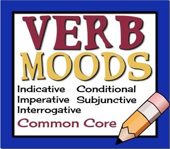what are the different types of verb moods
