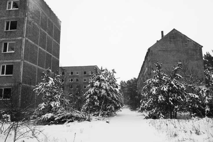 ghost town: #zerbst soviet military base