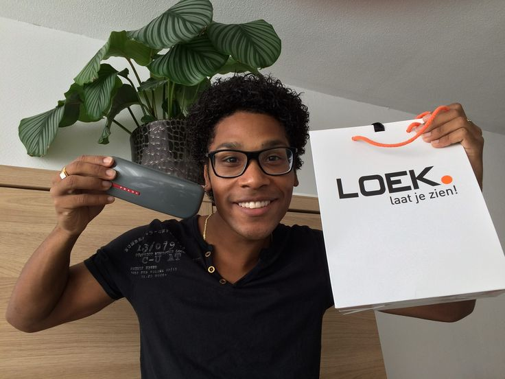 Jared Grant from The Voice Of Holland with a LOEK glasses!