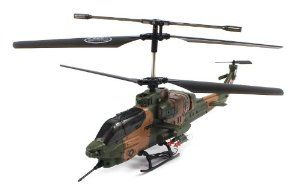RECHARGEABLE GYROSCOPE Electric Full Function GYRO 3CH SYMA S036G Marine Force RTF RC Helicopter (Colors May Vary) by RC Helicopters. $29.99. Features:  Electric Powered (Rechargeable)  Charges Via Included Wall Charger!. Coaxial Rotor Design with Balancing Bar for Maximum Stability!  Extreme Detail from the Mock Missiles to the Paint Job!  Remote Control requires 4 AA Batteries to run (not included). Full Function! (Rise and Descend, Turn Left and Right, Forwar...