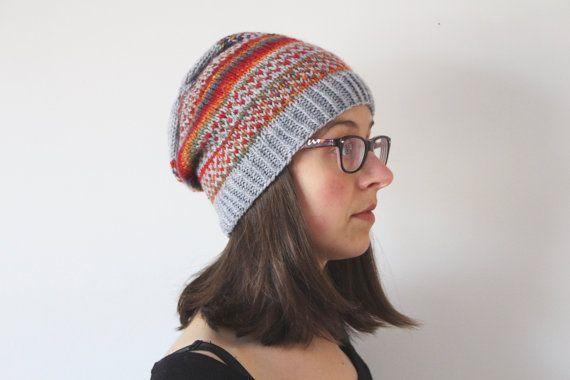 Wool hat Winter hat Men winter hat Women winter hat by TisseTriko