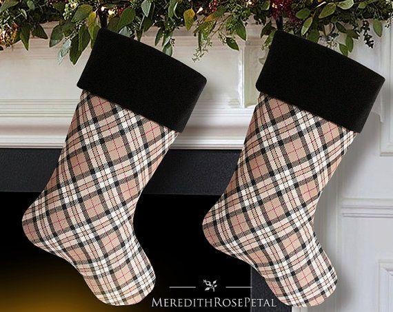 25+ melhores ideias de Plaid christmas stockings no Pinterest