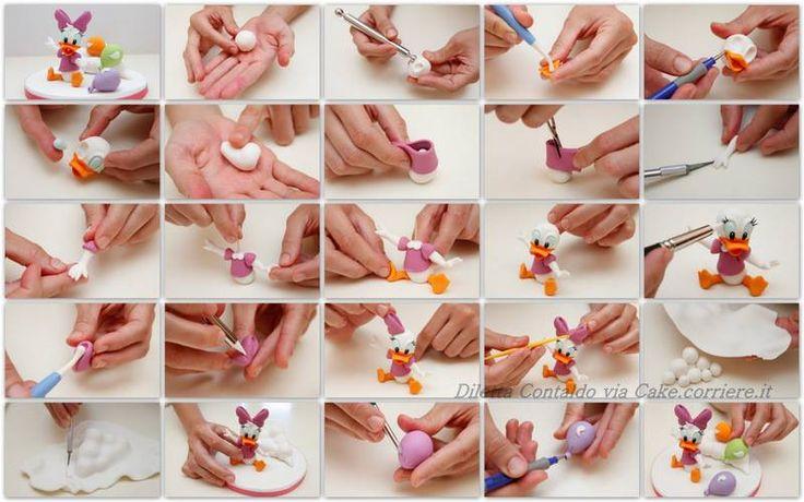 Sugar Modelling Tutorial - Daisy Duck