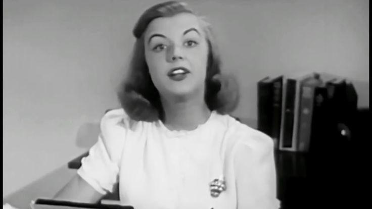 The Secretary's Day 1947 Coronet Instructional Films; Daily Secretarial Chores https://www.youtube.com/watch?v=jDxhhhqkpJA #office #secretary #career