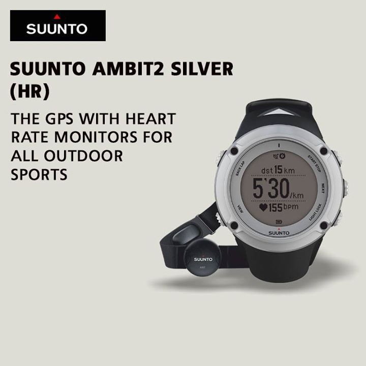 The award winning 'Suunto Ambit2' is ready for any adventure with a battery life of 16/50 hrs.   So what are you waiting for?