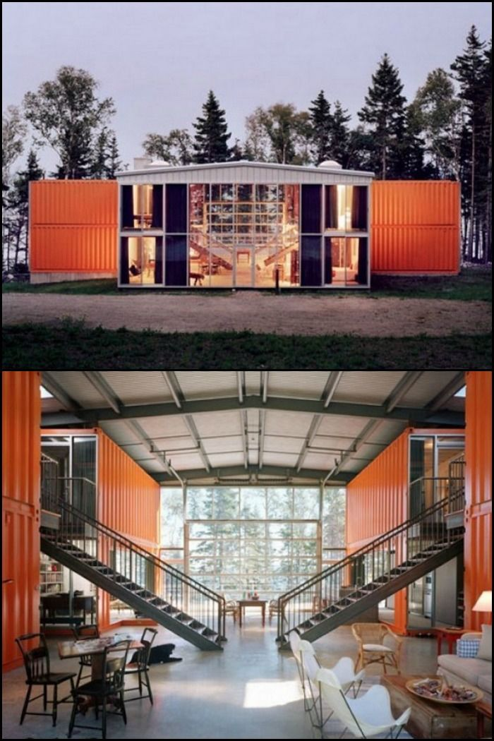 Check out these two awesome container homes - Adriance and Kalkin House!  What do you