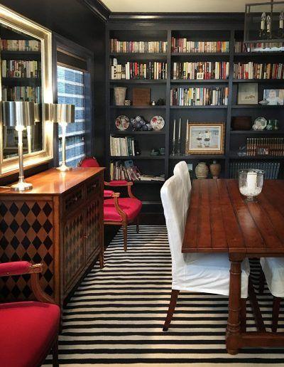 Study Interior By Meg Schucker Design Associates We Are A Full