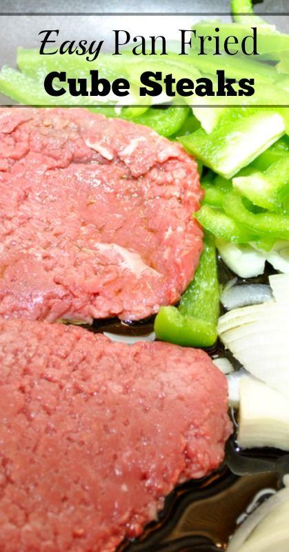 Easy Pan Fried Cube Steaks
