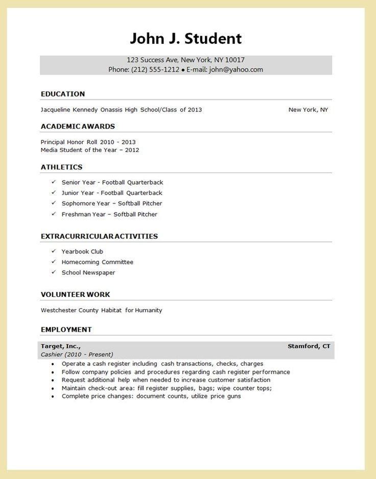 41+ Senior high school resume for ojt Resume Examples