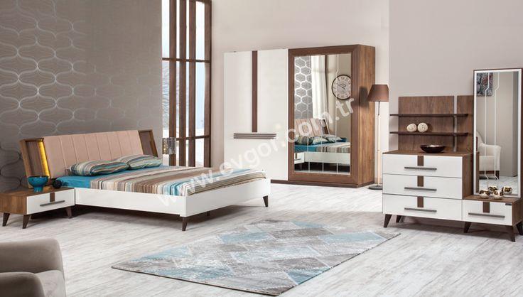 Tusem Modern Yatak Odası - https://www.evgor.com.tr/yatak-odasi