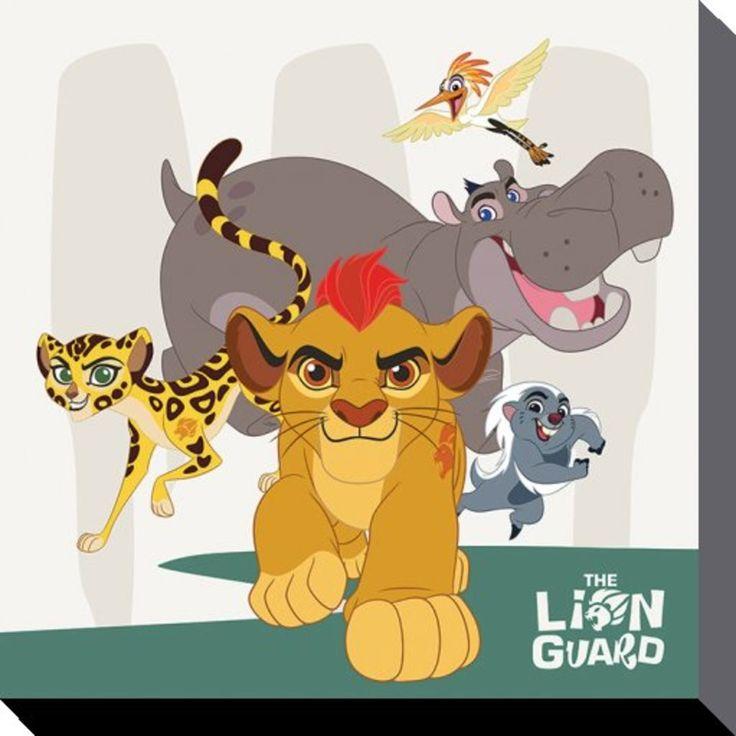 The Lion Guard - Disney - Characters - Canvas Print 40 x 40 cm
