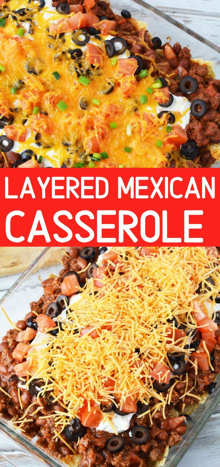 Mexican Casserole Mexican Ground Beef Casserole Is A Cheesy Mexican Inspired Ful Easy Mexican Casserole Mexican Ground Beef Casserole Mexican Casserole Recipe