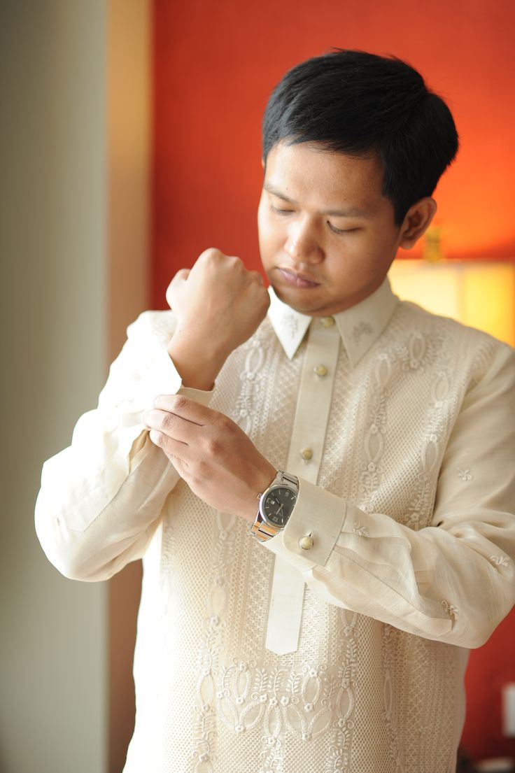 Barong Tagalog Wedding 2013 Wedding master of ceremony
