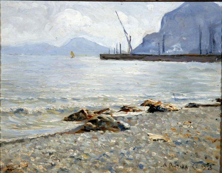 Attilio Pratella (Lugo di Romagna (RA) 1856 - Napoli 1949) Marin