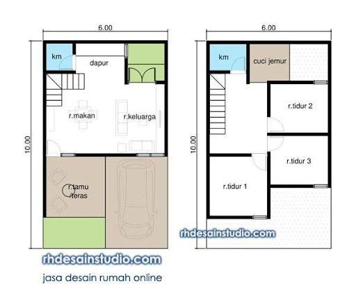 Pin Oleh Wak Update Di House Design Di 2021 Denah Rumah Desain Rumah Rumah