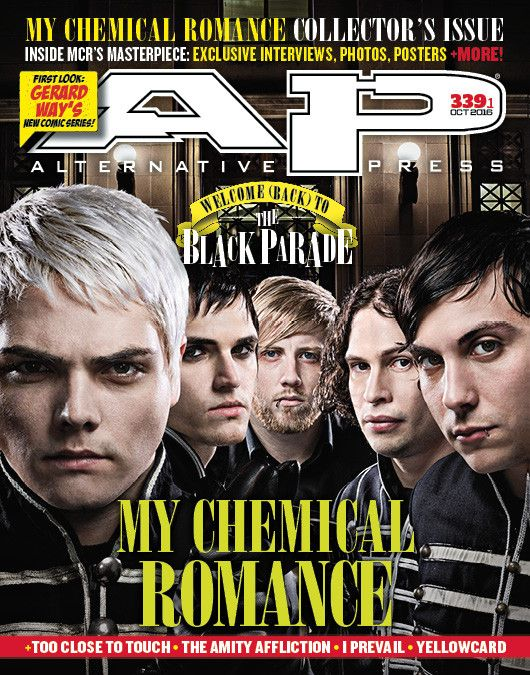 The Black Parade turns 10 and we're ready to celebrate! We went deep in the AP archives to bring you never-before-seen My Chemical Romance interviews and photos as well as an exclusive sit-down with d