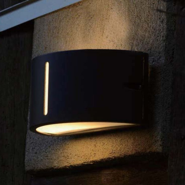 Buy The Elstead Lighting Lutec Bonn 3304 Wall Light In Graphite From Arrow Electrical A Full Range Of Outdoor Lights Available At Great Prices