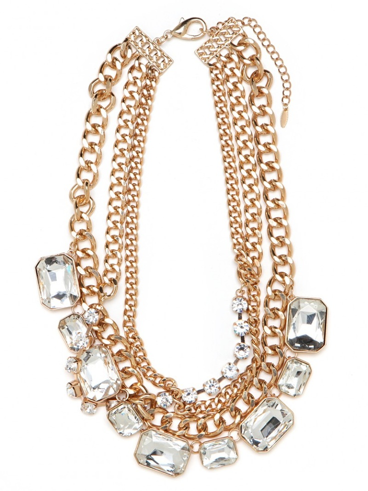 Love this bauble bar necklace. Would make a plain tee exciting.