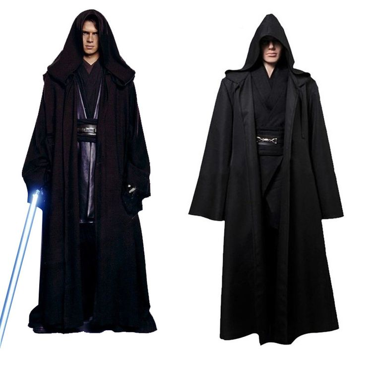 Takerlama Unisex Halloween Star Wars Jedi/Sith Knight Cloak Cosplay Adult/Kids Hooded Robe Cloak Cape Halloween Cosplay Costume #Affiliate