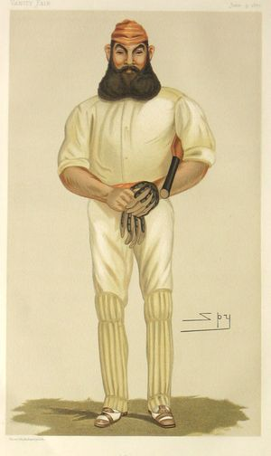 """Cricket"" [William Gilbert Grace] by Spy [Sir Leslie Ward]"