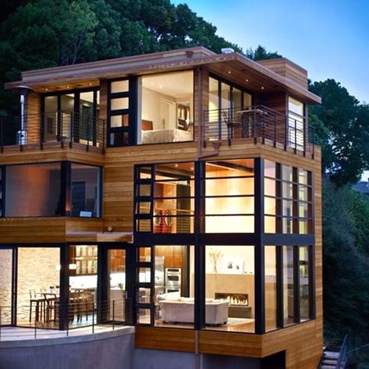 10 Modern homes, architecture