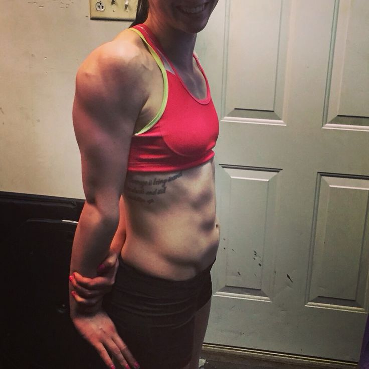 Arm progress! Being fit and healthy is very important ! Heaven furoy bikini competitor @ stayFit Fitness